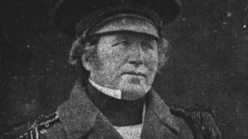 Captain Francis Crozier, the subject of Icebound in the Arctic