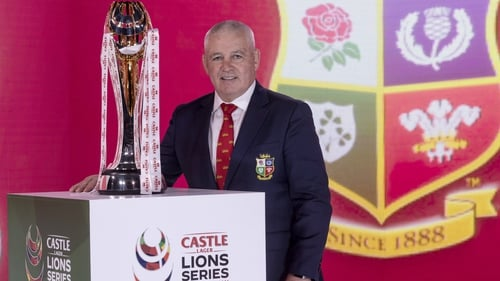Gatland: 'The big challenge for us is being in the bubble in South Africa and potentially having to quarantine when we come back'
