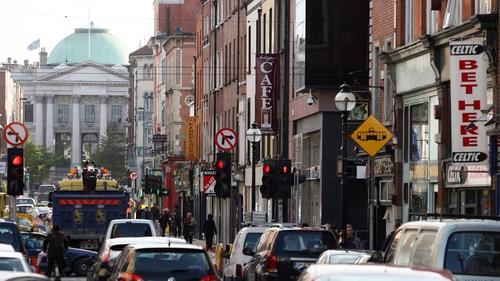 Heavy traffic on Capel Street pre-pandemic (pic: RollingNews.ie)