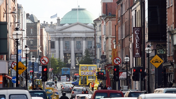 The move has been made to help facilitate outdoor dining, Dublin City Council said