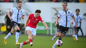 Jordan Gibson's goal proved the difference between the two sides at Oriel Park