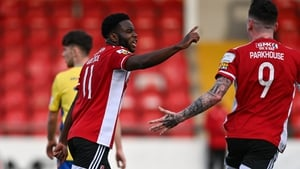 James Akintunde broke Longford Town hearts at the death