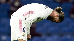 Ramos has had no luck with injuries this season