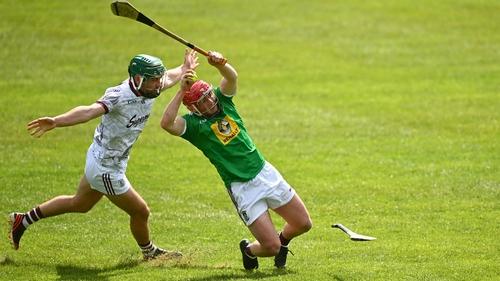 Evan Niland of Galway bears down on Westmeath's Darragh Egerton