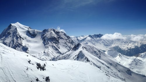 Mont Pourri in the French Alps (file image)