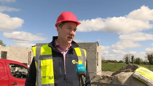 Neil Feighery says costs of cement, timber and steel have all risen by staggering amounts