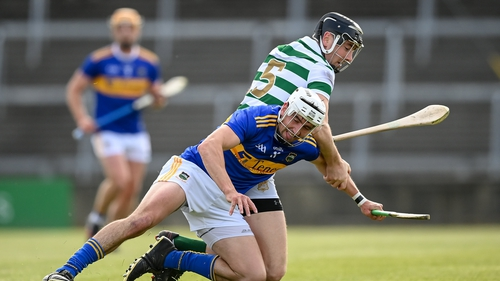 Patrick Maher of Tipperary in action against Diarmaid Byrnes