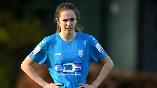 Shauna Carroll's cross was deemed to have crossed the line, giving DLR Waves victory at home to Bohemians