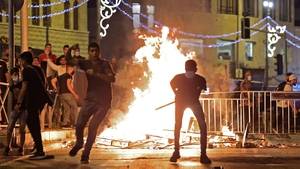 Palestinian protesters hurl stones at Israeli security forces in Jerusalem's Old City