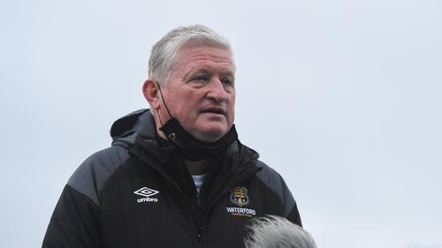 Mike Geoghegan took charge of Waterford's game against Drogheda