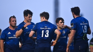 Leinster ran in eight tries in Galway