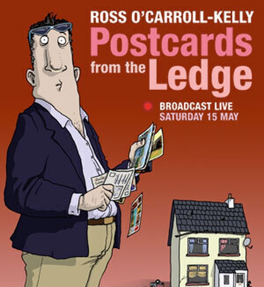 Paul Howard, creator of Ross O'Carroll Kelly