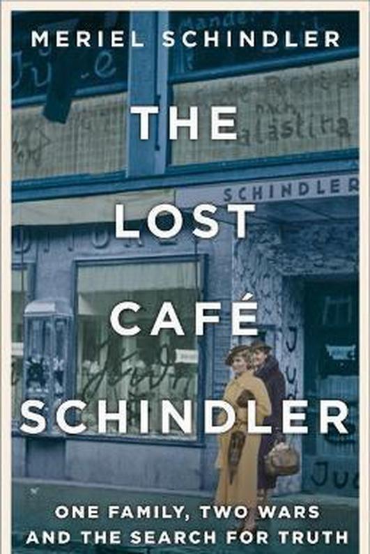 "Meriel Schindler, author of ""The Lost Café Schindler"""