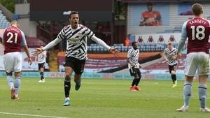 Mason Greenwood scored United's second goal