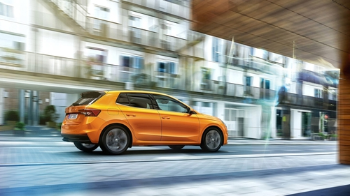 The 4th generation Fabia arrives in Ireland in December.