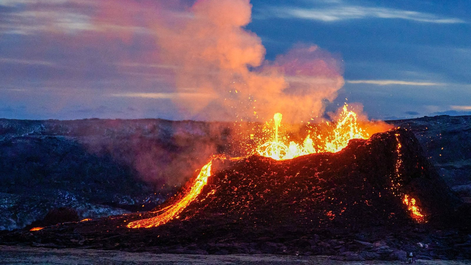 Icelandic volcano roars back to life after 6,000 years