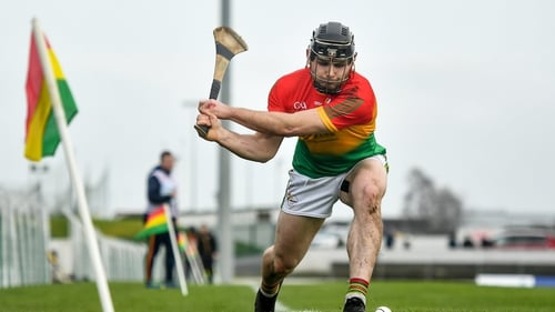 Carlow's John Michael Nolan hit two points in the win over Wicklow