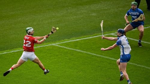 Shane Kingston with Cork's third goal