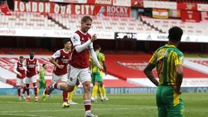 Emile Smith Rowe scored Arsenal's opener