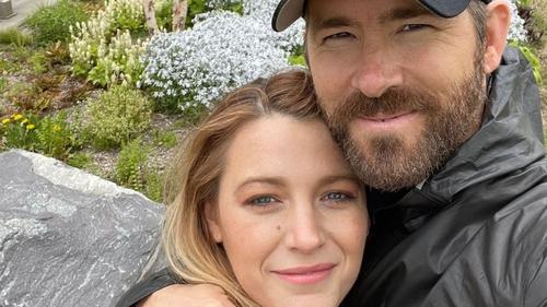 Ryan Reynolds paid tribute to his wife Blake Lively, image via Ryan Reynolds/Instagram