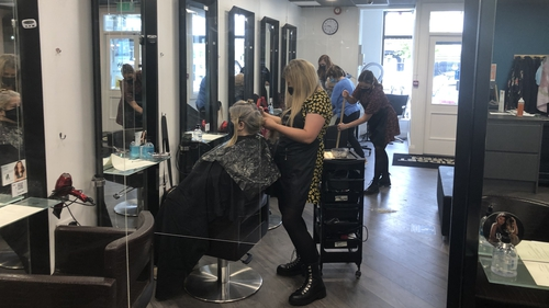 Bridget Haren Hair & Beauty in Ennis welcomed clients this morning