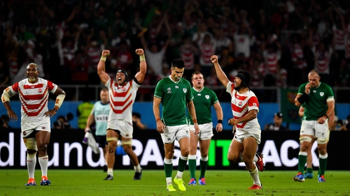 Japan turned Ireland over at the 2019 Rugby World Cup on home soil