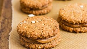Oaty Nutter Butter Cookies