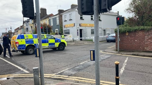 Gardaí say the man suffered a serious but non-life threatening injury to his leg