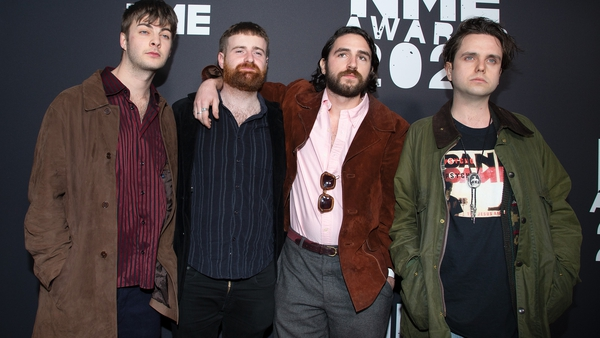 Fontaines D.C. in running for international group  Brit Award