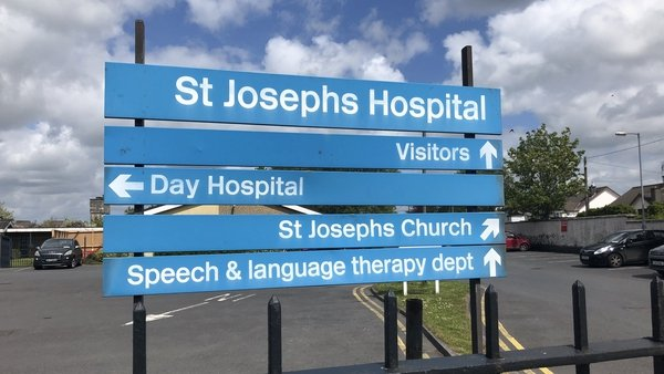 A HIQA inspection of St Joseph's Hospital took place on 10-11 March this year
