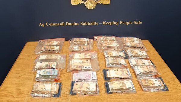 The men were arrested following the seizure