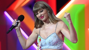 Taylor is the first female to be awarded the Global Icon accolade
