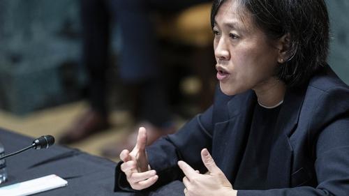 United States Trade Representative Katherine Tai (file image)