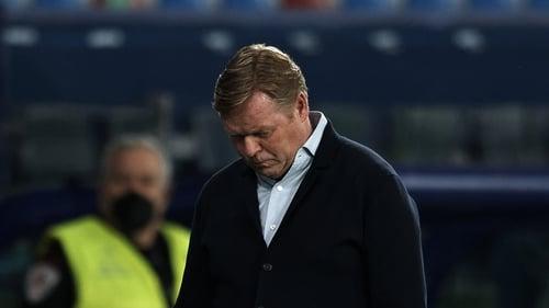 Ronald Koeman is struggling at Barcelona