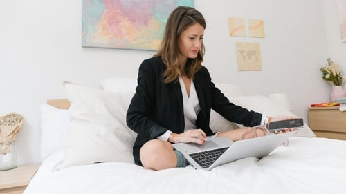 Does your employer need to know you're back in bed if you're getting the work done?