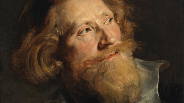 Peter Paul Rubens, detail from Head of a Bearded Man (1622-1624)