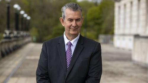 Edwin Poots won the first leadership contest in the DUP's 50-year history