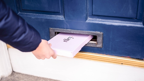 Tampons through your letter box