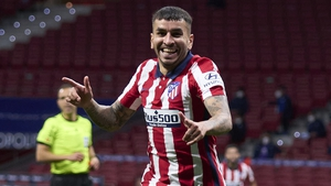 Angel Correa scored Atletico's second goal