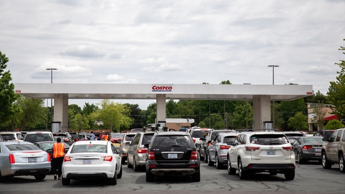 Some areas in the US saw as much as 70% of their gas stations run out of fuel this week