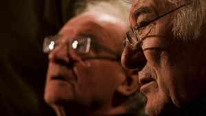 Seamus Deane (left) with Seamus Heaney in the documentary The Boys Of St. Columbs