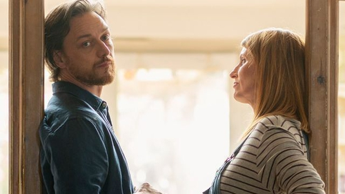 James McAvoy and Sharon Horgan in Together. Picture courtesy of BBC