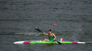 The Dubliner knew a top-two finish in the European canoe-kayak sprint qualifier would secure qualification, but was unable to build on a good start
