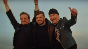 Bono and The Edge's collaboration with DJ Martin Garrix has been released