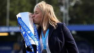 """Chelsea boss Emma Hayes: """"I really respect Barcelona... but I cannot wait to play them."""""""
