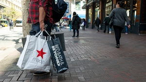 US retail sales dropped 1.3% last month, new figures show today