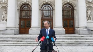 Taoiseach Micheál Martin was speaking at a press conference this evening