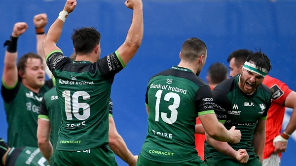 Connacht will host Stade Francais at the Sportsground