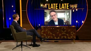 Seth Rogen with Ryan Tubridy on Friday's Late Late Show