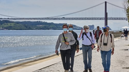 Travellers from EU countries with coronavirus rates below 500 cases per 100,000 residents can make 'all types of visits to Portugal' from Monday